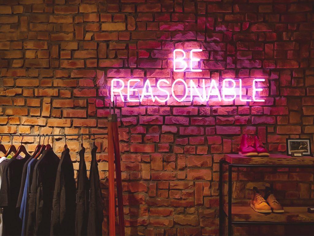 BeReasonableのネオン