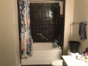 アメリカの浴室