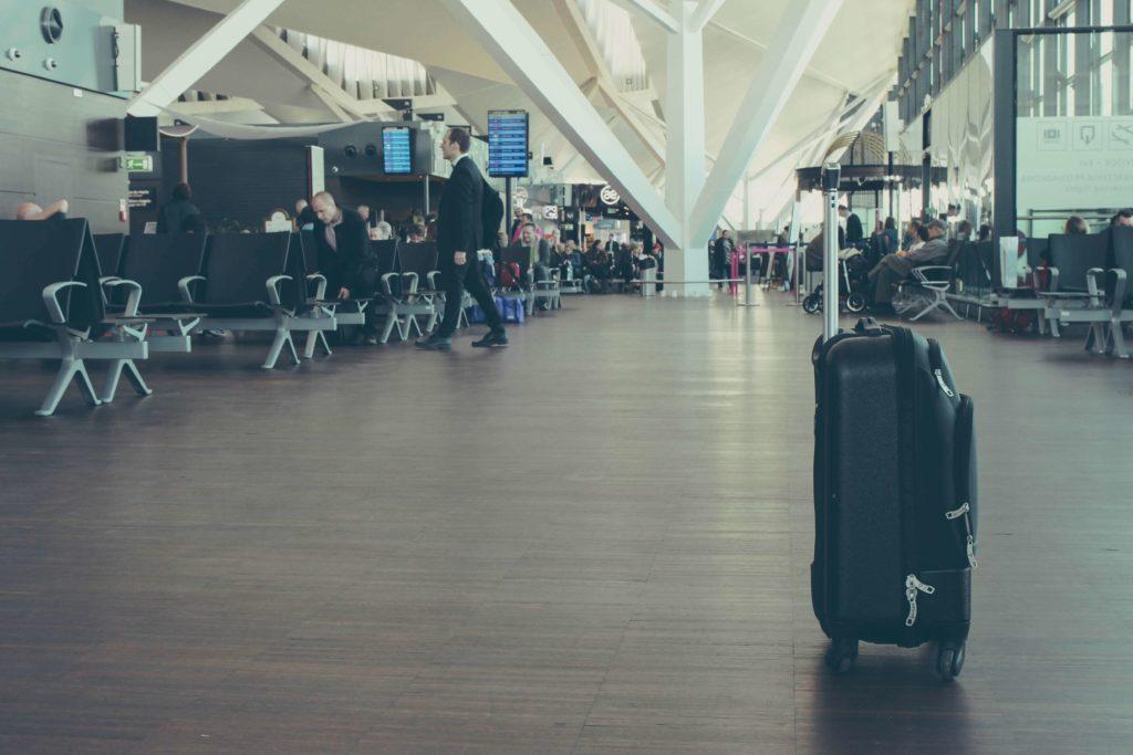 機内持ち込みサイズのスーツケース