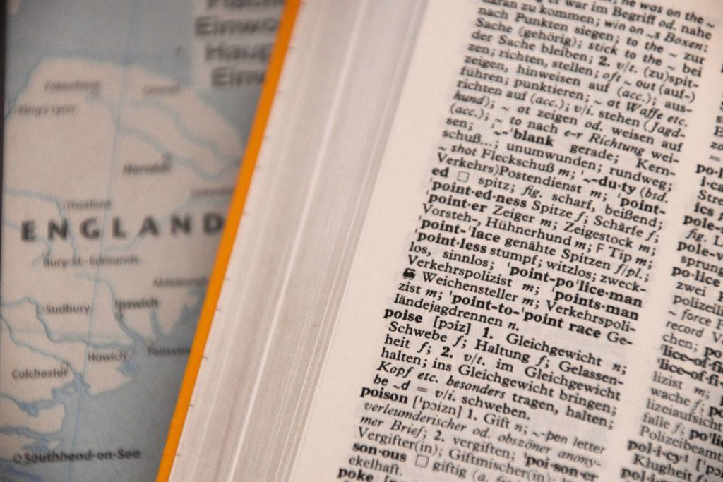 英語を勉強するための辞書