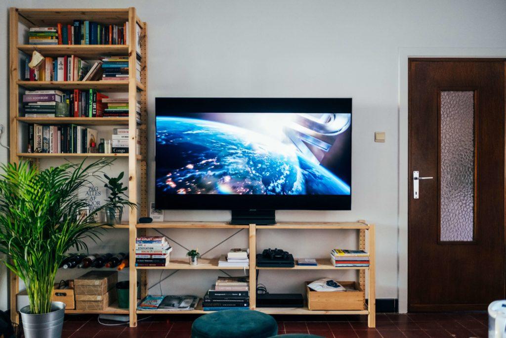 アメリカでテレビを見る(鬼滅の刃)